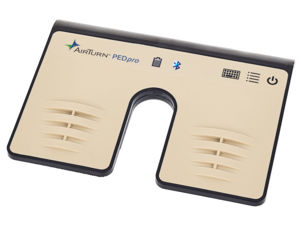 Pageturner AirTurn PEDpro, Bluetooth - voetcontroller, Hands Free Dual, voor tablets en computers met bluetooth 4.0