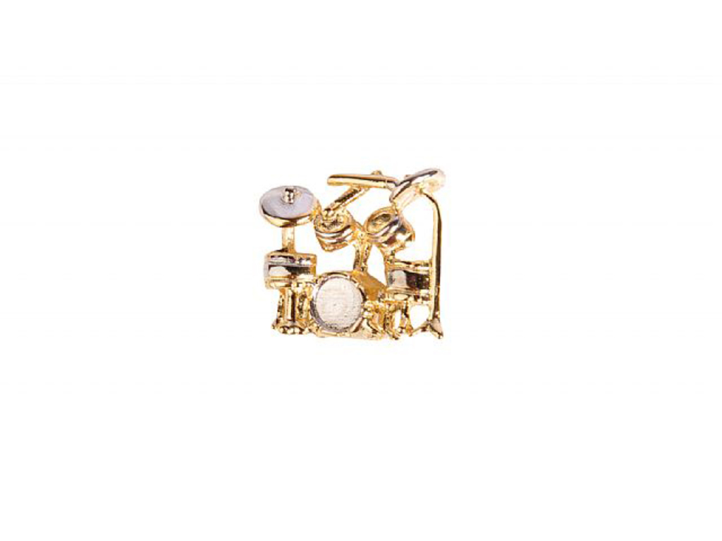 Pin Art of Music Drumset, Goldplated