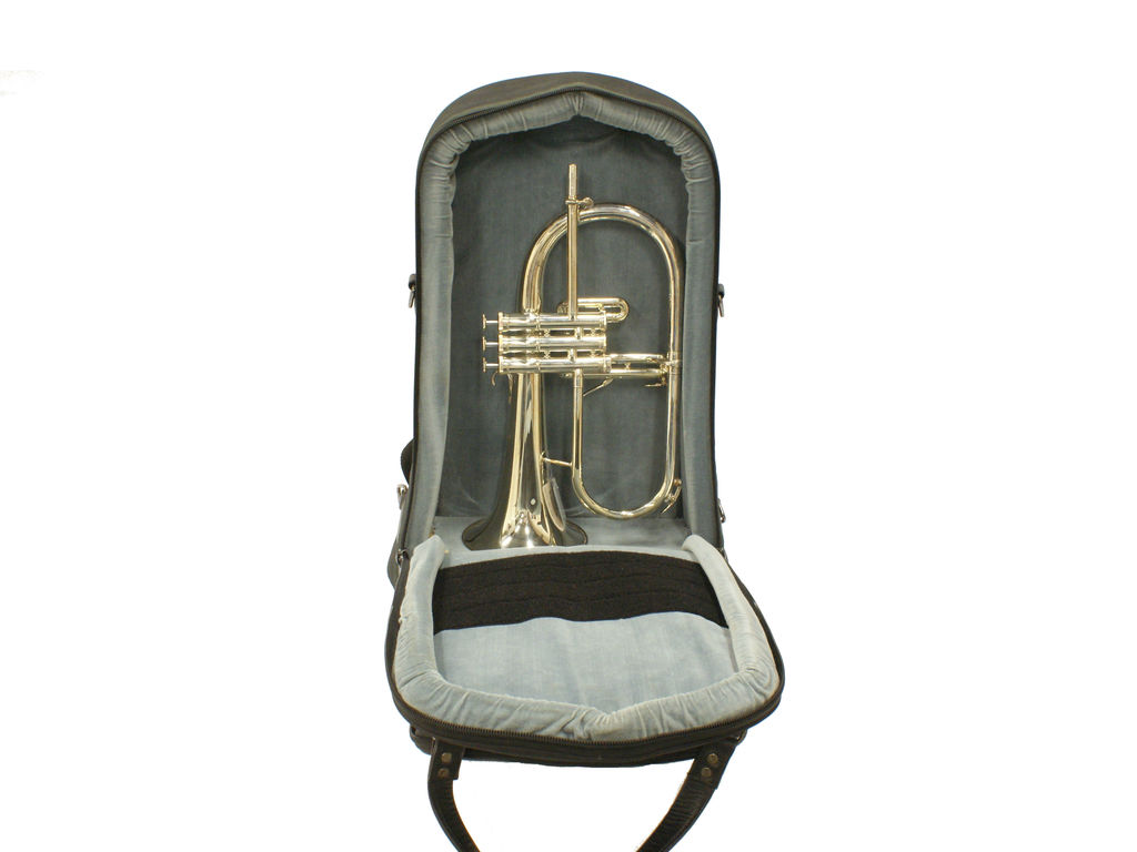 Etui Flugelhorn Adams Deluxe, with wieltjes, Backpack Model, with side pocket