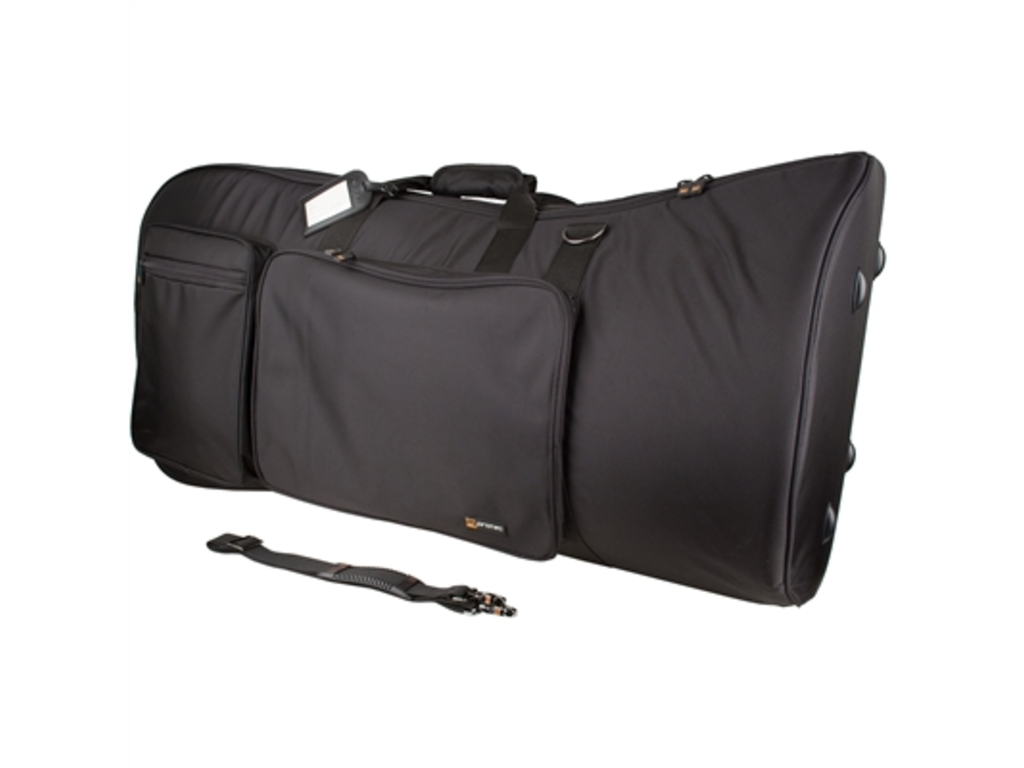 "Etui Tuba Protec C241, Gig Bag, Gold series, 22"" bell, with side pocket, Strap and Backpack Band, Bag"