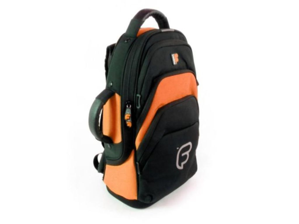 Etui cornet Fusion F1, black/orange