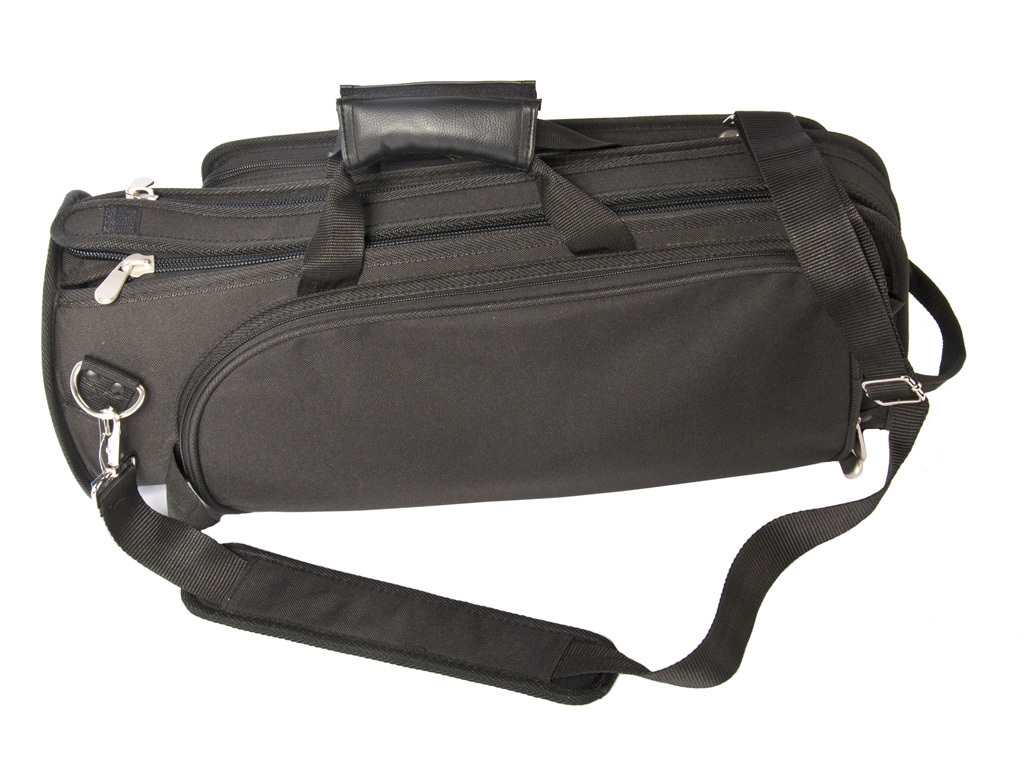Etui Cornet Adams Custom Series Deluxe Bag, with side pocket and Strap