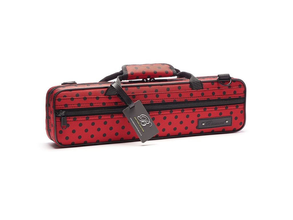 Etui Flute Beaumont BFCA-LB, Ladybird, Box case for Flute with C-foot