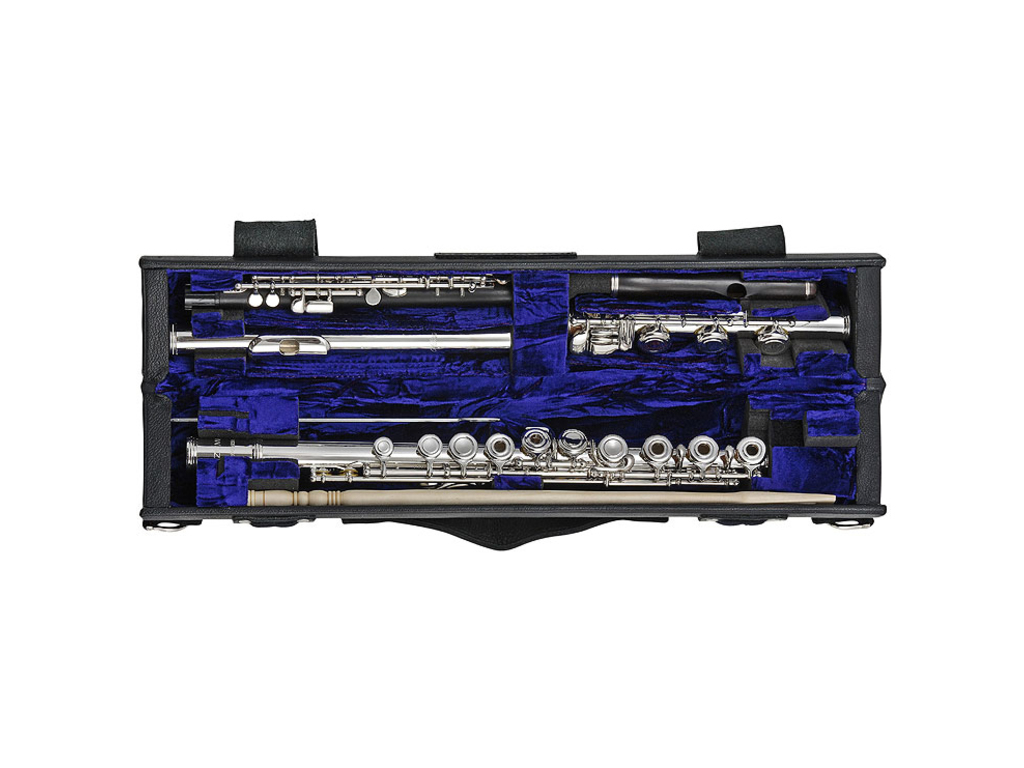 Etui Flute Wiseman, single/double, Flute and Piccolo, for Flute with B-foot Joint