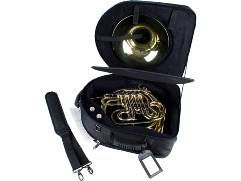 Etui French Horn Protec PB316SB, detachable Bell, Pro Pac Case, hard Case, with side pocket and draagriem.