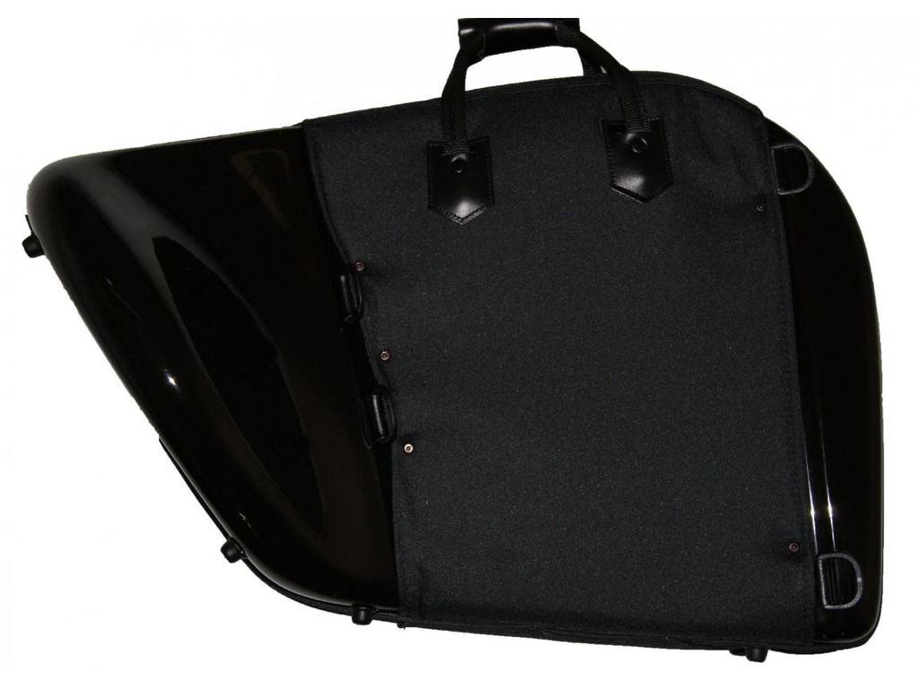 e6a4cfe93cf Etui Hoorn Tortajada, fiber, vaste beker, mat zwart, hard koffer