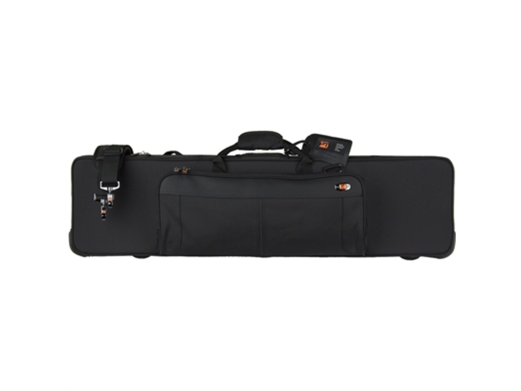 Etui Bassclarinet Protec PB319, Black, with side pocket, hard Case, for Bassclarinet to low E-flat
