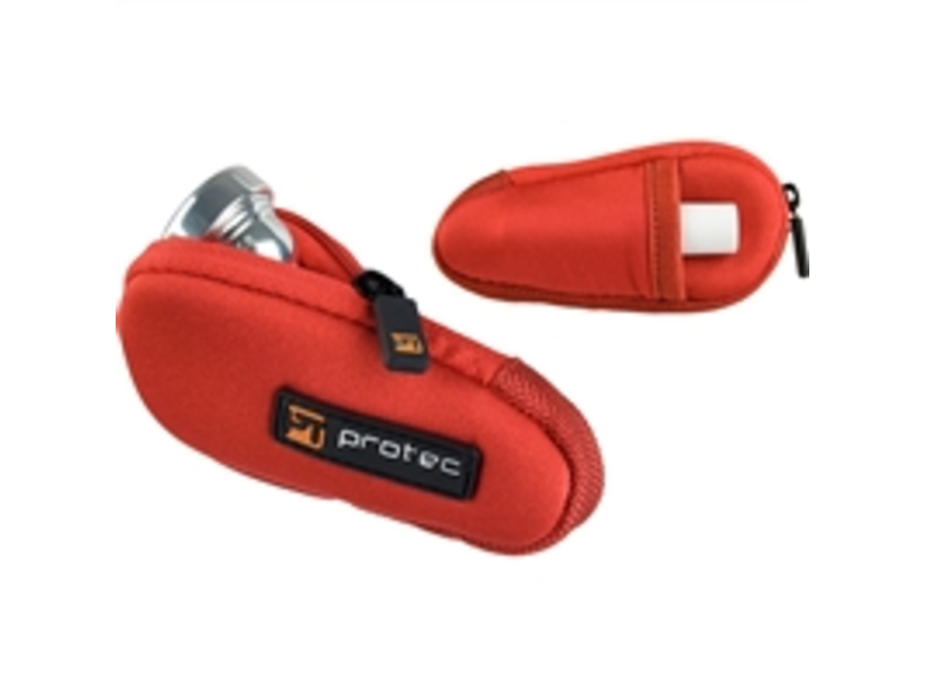 Cases for mouthpieces Protec N203RX, Trumpet Mouthpiece, Red
