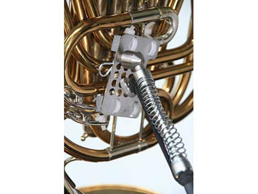 French Horn steun, Ergobrass French horn support, combination from type A and B French Horn steun