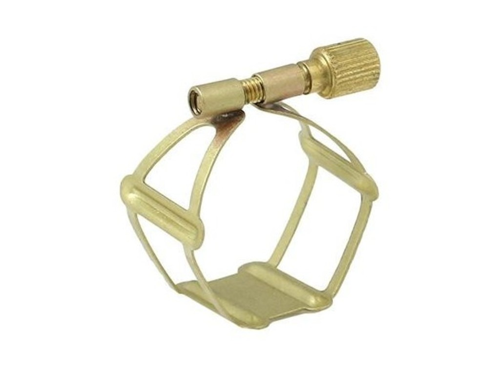 Ligature Klarinet Bes Francois Louis Basic-serie, Brass