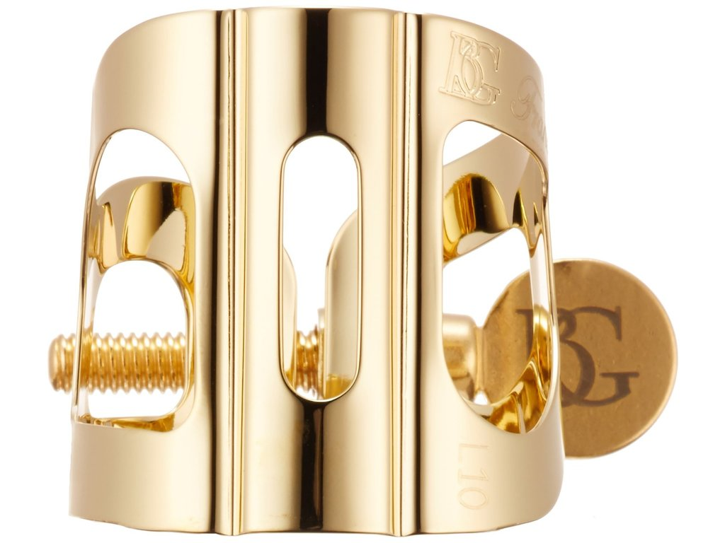Ligature Saxophone Alto BG L11, Tradition, Goldplated