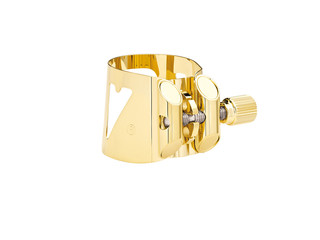 Ligature Saxofoon Tenor Vandoren L08, Optimum, Verguld