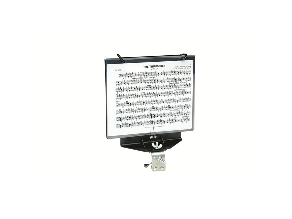 Marching Music Stands DEG HC245, for Bass Drum, including 5 UMNI sheets