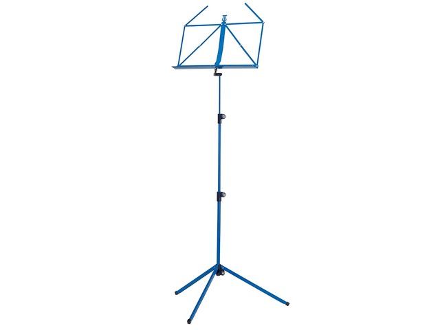 Pupiter K&M 100/1, Music stand deluxe 3 delig folding Model, Blue