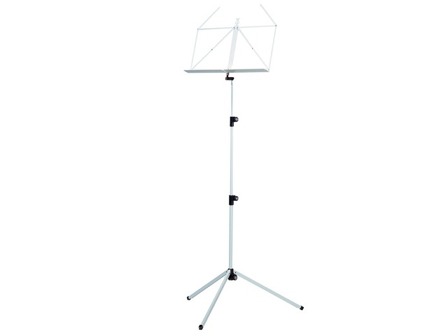 Pupiter K&M 100/1, Music stand deluxe 3 delig folding Model, white