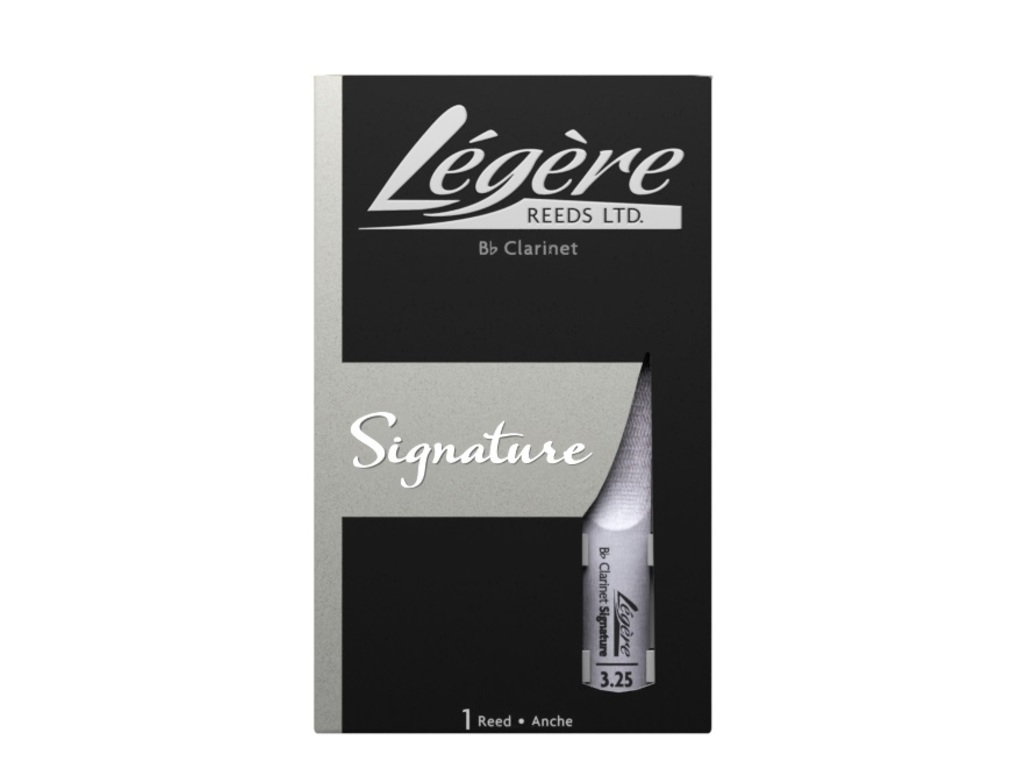 Reed Legere Signature for Bb Clarinet Plastic, strength 3,25, 1 piece