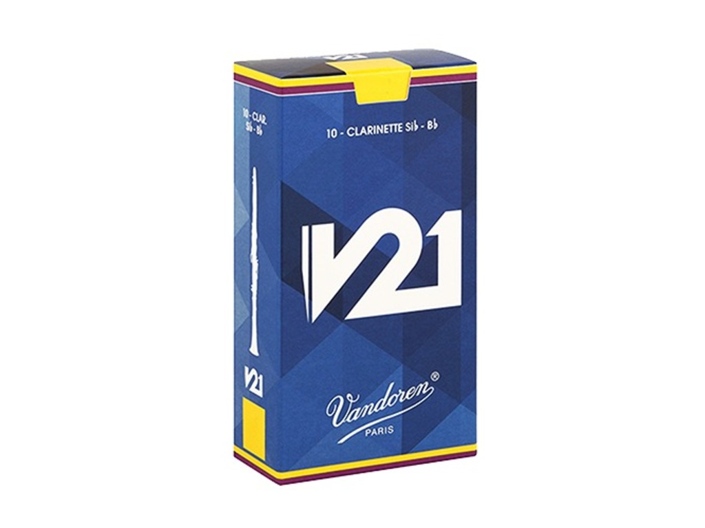 Reeds Vandoren for Bb Clarinet V-21, CR 8035+, strength 3,5+, 10 pieces