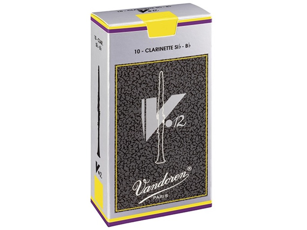 Reeds Vandoren for Bb Clarinet V-12, strength 3, 10 pieces