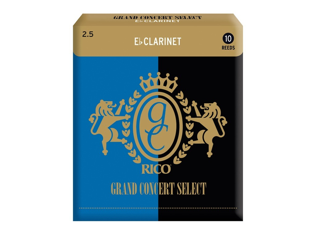 Reeds Rico Grand Concert Select for E-flat Clarinet, strength 2,5, 10 pieces
