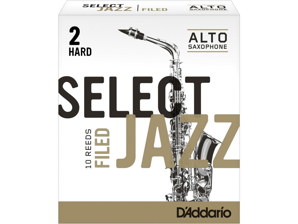Rieten Rico Select Jazz Filed Voor Alt Sax, Sterkte 2H
