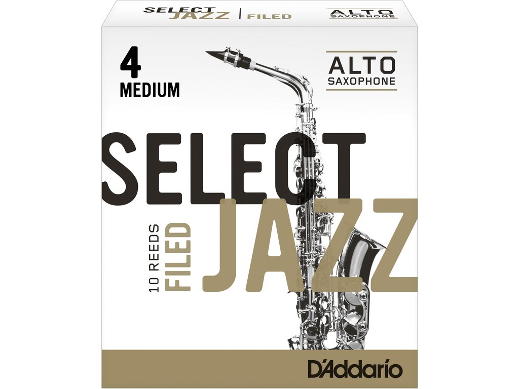Rieten Rico Select Jazz Filed Voor Alt Sax, Sterkte 4M
