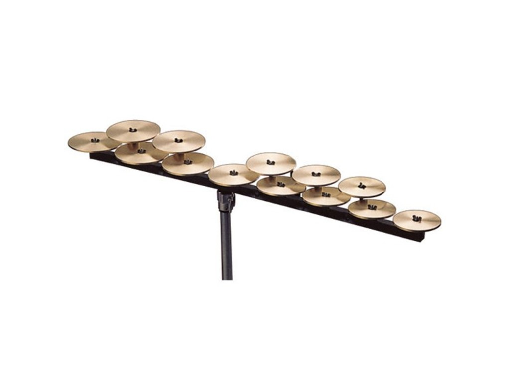 Zildjian Crotales bar low octave, bevestigings bar