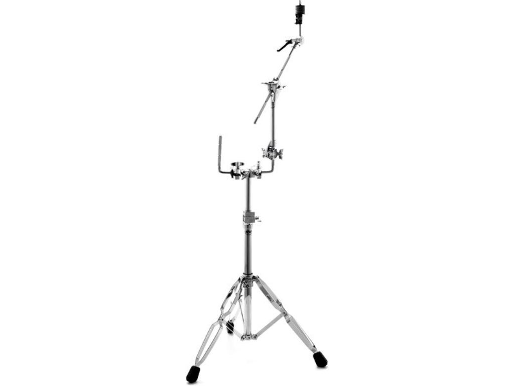 Cymbal Tomstand DW CTS 9999, dubbele poten, kogelgewricht