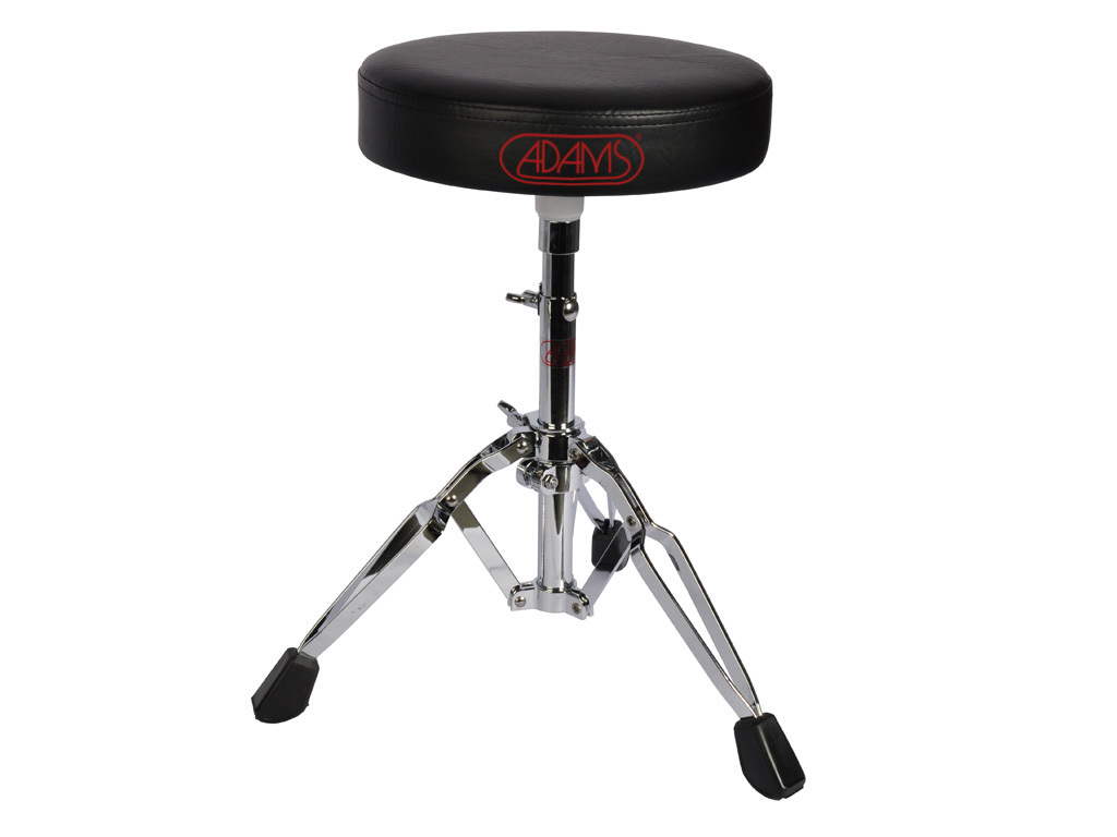 Drum Throne Adams DT701, round Model, double-braced, leather