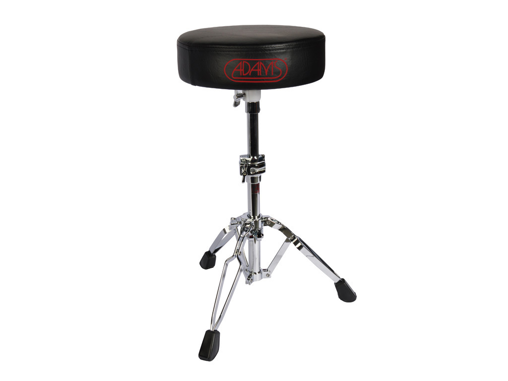 Drum Throne Adams DT702, round Model, double-braced, leather