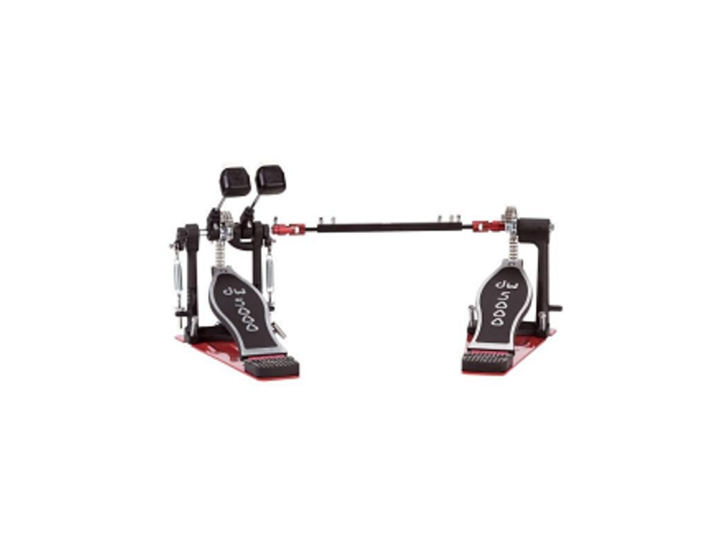 Bass Drum Pedal Dw 5002tdl3 Delta Ii Turbo Double With Chain Left Plastic Felt Beater