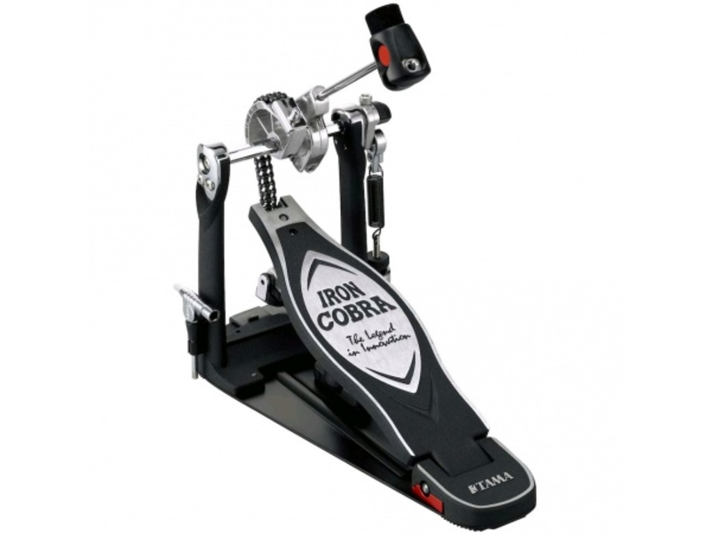 Bass drum pedal Tama HP900RN, Rolling Glide, single pedal with double chain, power-strike beater