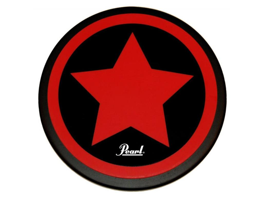 "Oefenpad Pearl PDR-08SP, Practice Pad 8"" STAR with Pearl Logo"