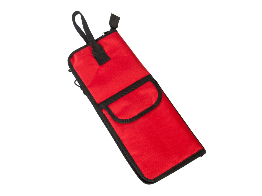 Stick bag Adams DWR, for maximum 12 pair Sticks, with side pocket and attachment hooks, Color Red