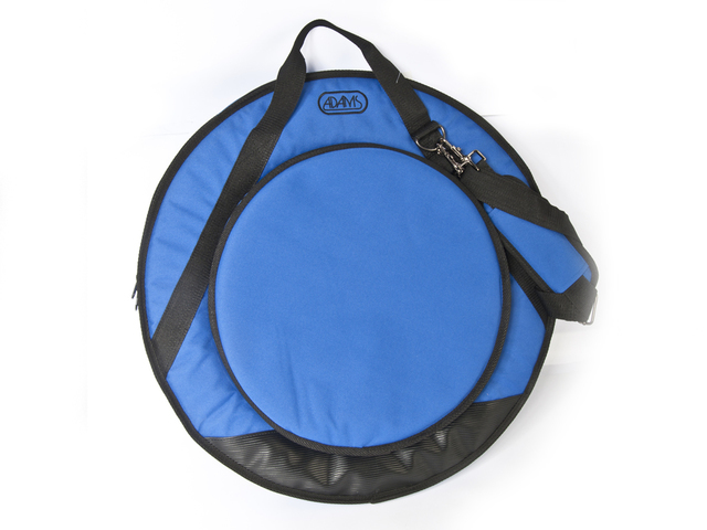 "Cymbal Cover Adams Deluxe 22"" Blue, with Strap"
