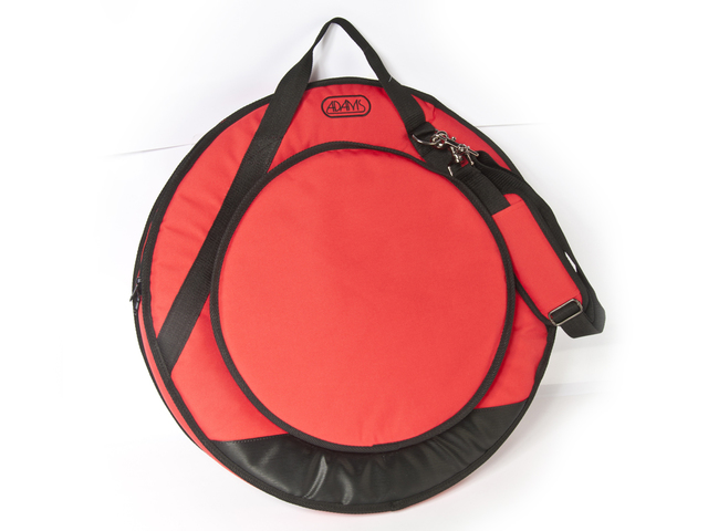"Cymbal Cover Adams Deluxe 22"" Red, with Strap"