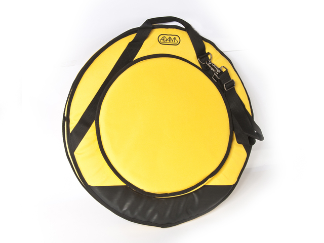 "Cymbal Cover Adams Deluxe 22"" yellow, with Strap"