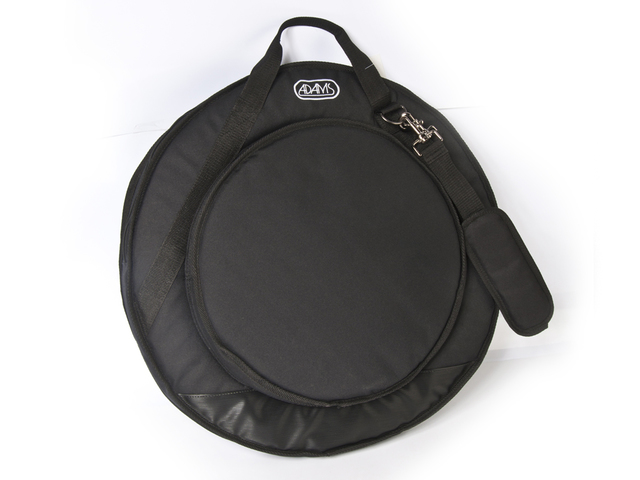 "Cymbal Cover Adams Deluxe 22"" Black, with Strap"