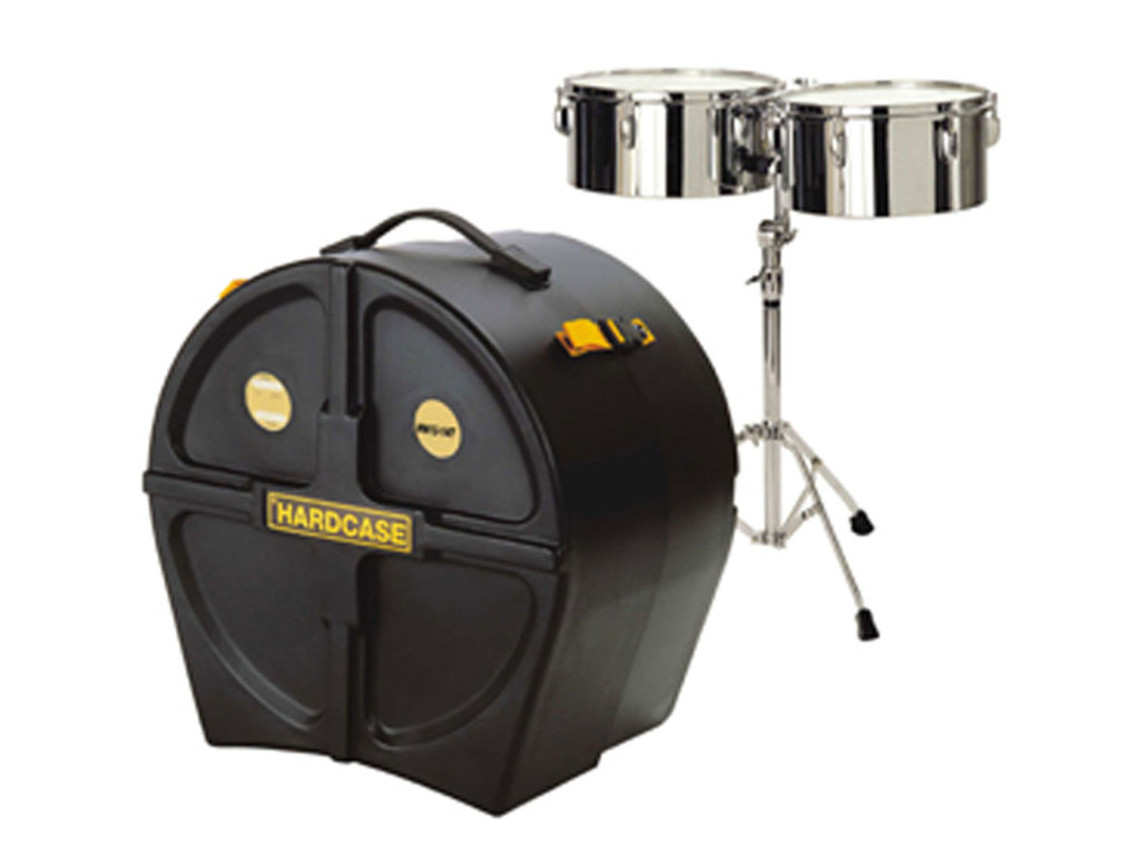 "Timbales Koffer Hardcase HN10-12T, voor timbales 10"" + 12"""
