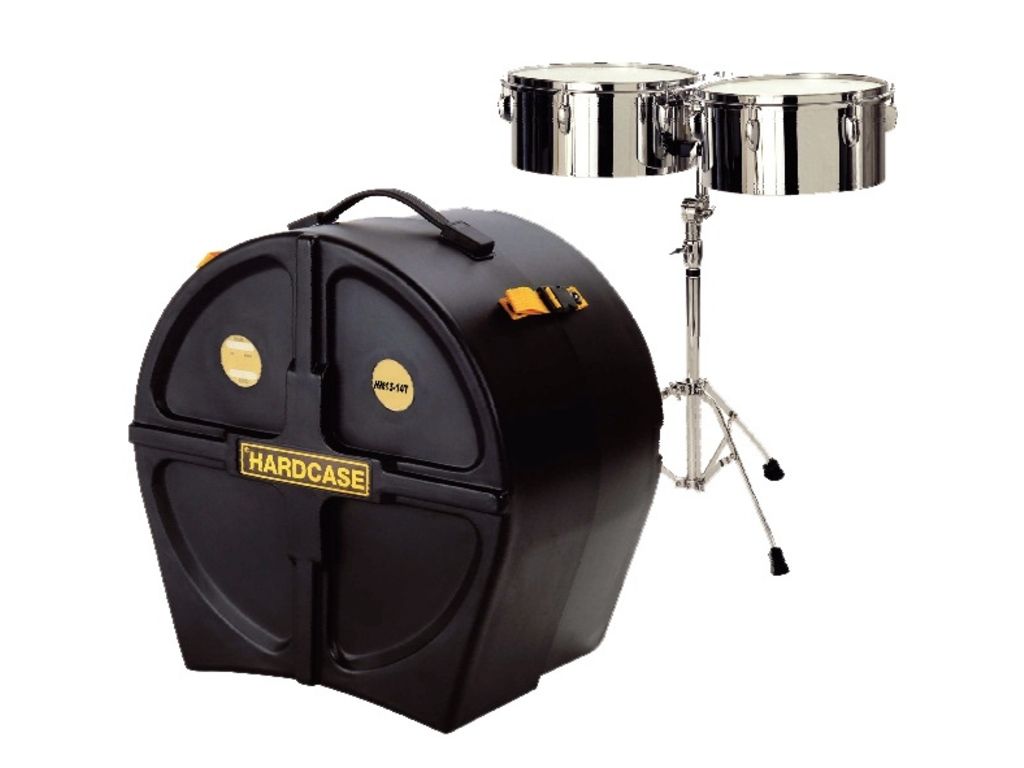 "Timbales Koffer Hardcase HN13-14T, voor timbales 13"" + 14"""