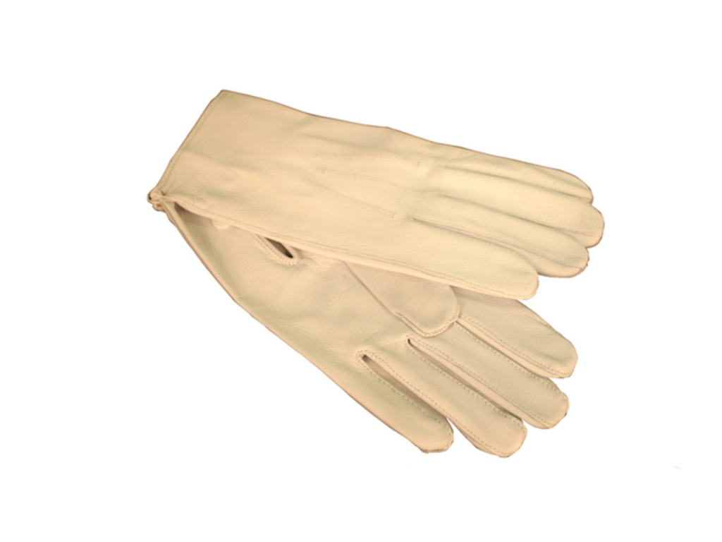 Gloves leather maat 9 (M) without kap