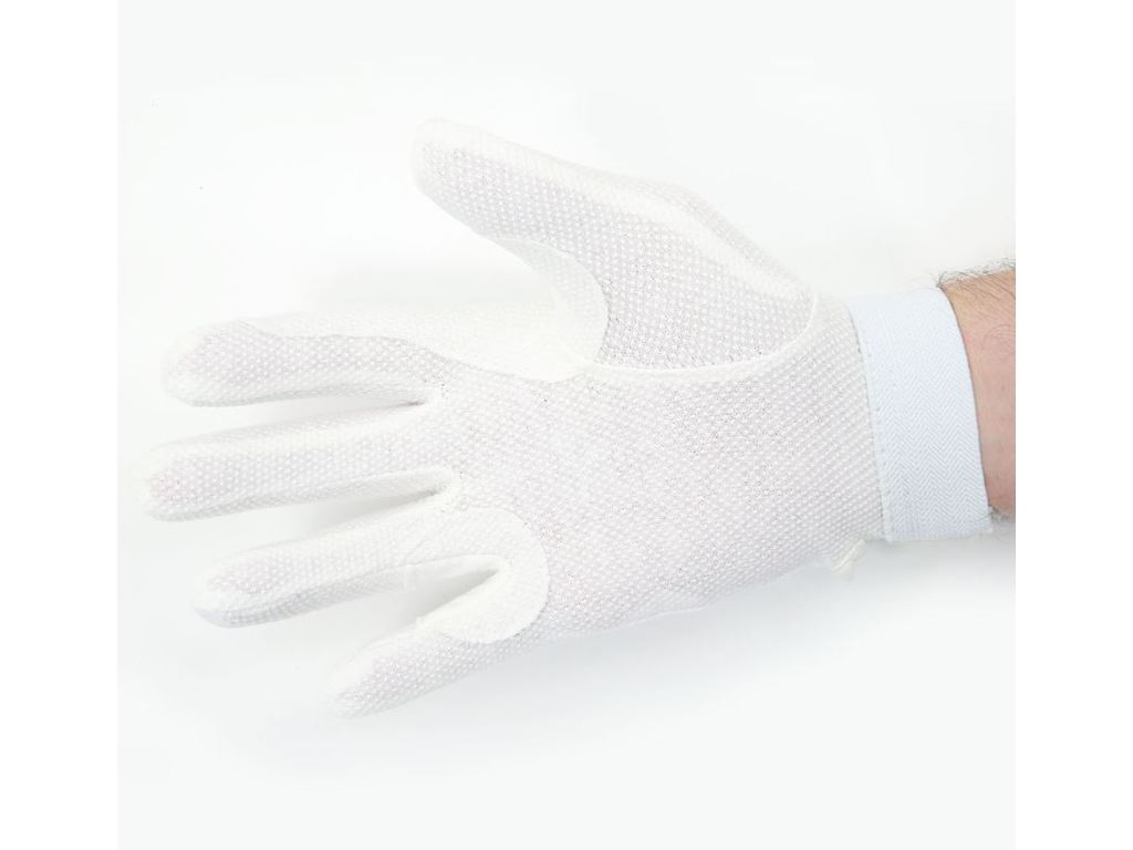 Gloves fabric with anti slip striations and velcro, maat L
