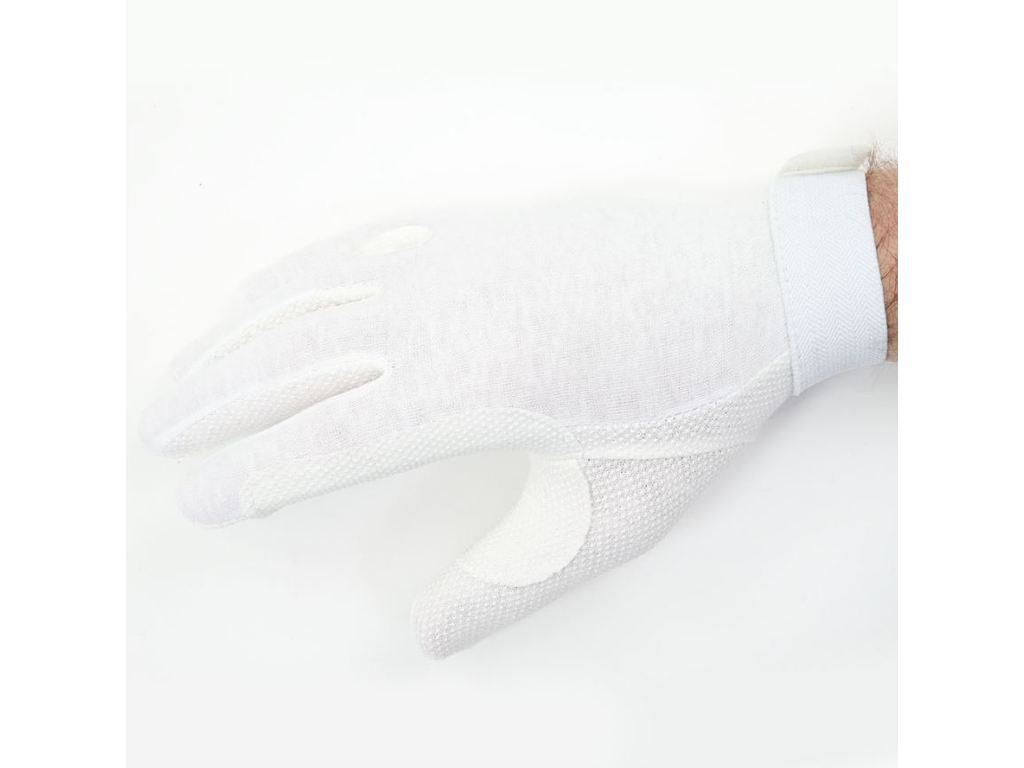 Gloves fabric with anti slip striations and velcro, maat XXL