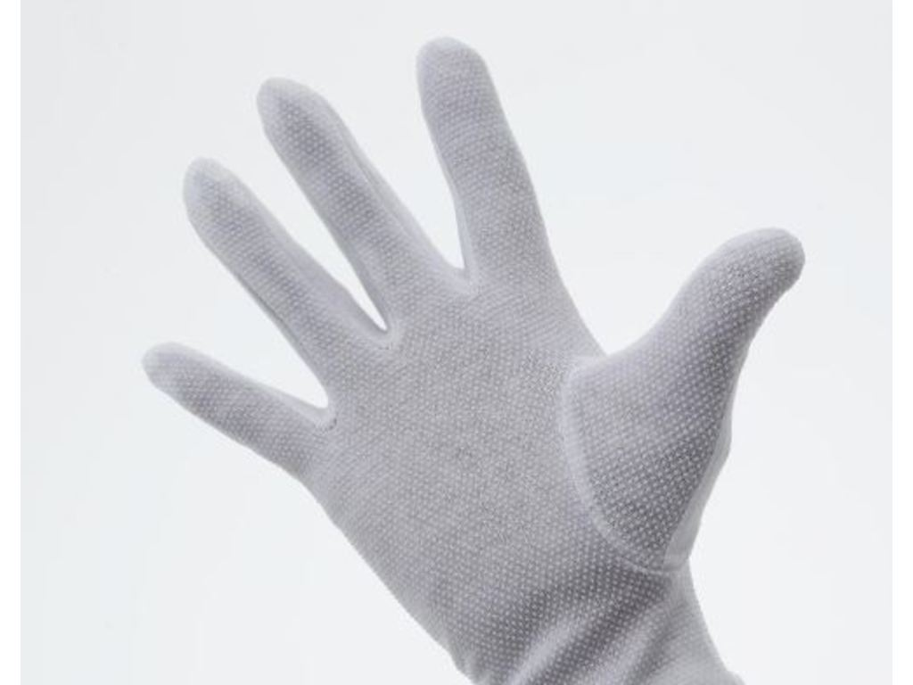 Gloves fabric with anti slip striations, without velcro, maat XXL