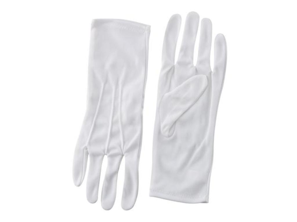 Gloves fabric without anti slip striations, without velcro, maat M  (12)