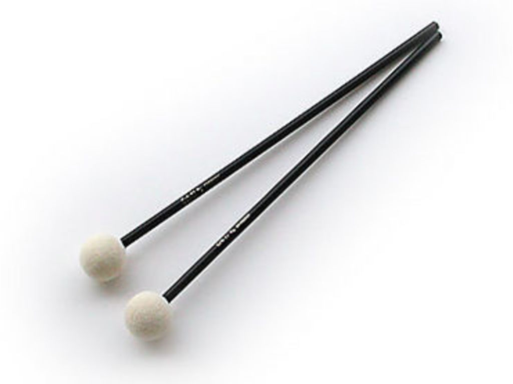 Felt Headed Mallet Sonor SCH17, Orff, Diameter 25,8mm, Lengte 24,5cm, Hard, Bal Felt
