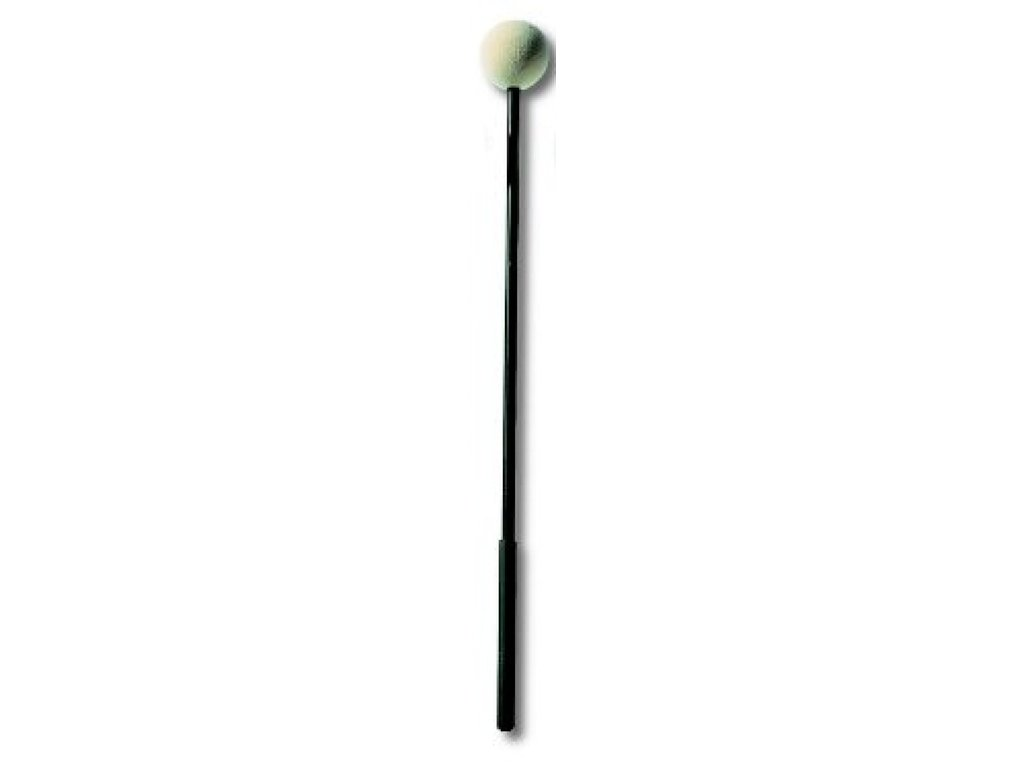 Felt Headed Mallet Sonor SCH7, Orff, Diameter 40mm, Lengte 34,5 cm, Soft, Bal, Vilt