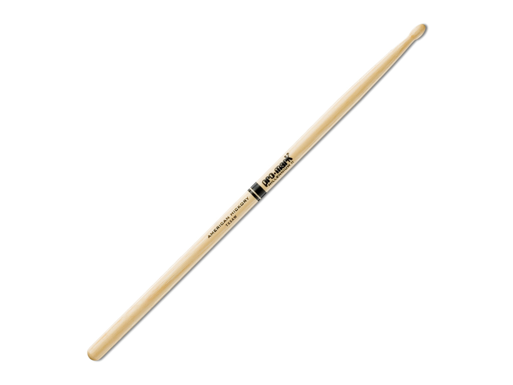 "Drumstokken Promark TX5AW, Hickory (5A) .551"", Lengte 16"", Oval, Houten tip"