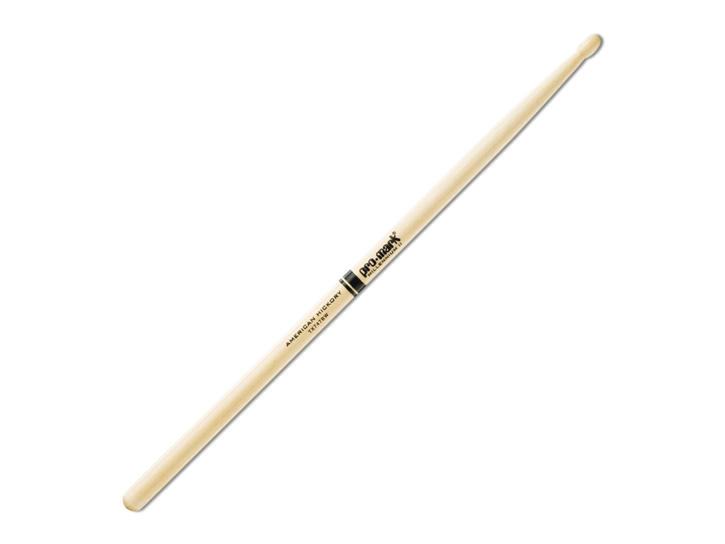 "Drumsticks Promark TX747BW, Hickory 747B ""Super Rock"", length 16 3/4"", Oval, wooden tip"