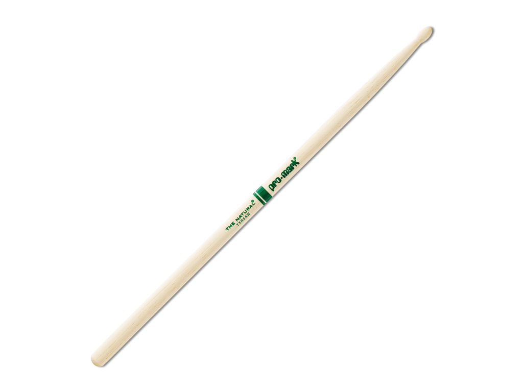 "Drumsticks Promark TXR5AW, ""The Natural"", Hickory (5A) .551"", length 16"", Oval, wooden tip"