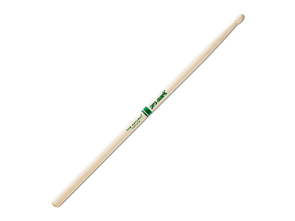 Promark TXR747W Hickory Natural Finish Wood Tip Drum Sticks